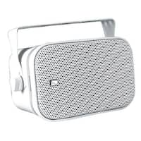 PolyPlanar MA800W Compact Box Speaker, Pair - White