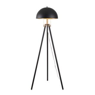 Link to Simon Tripod Modern Metal 2 Light Floor Lamp Similar Items in Floor Lamps