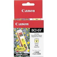 Canon BCI-6 Y Ink Tank BCI 6Y YELLOW INK TANK -SUPPORTS