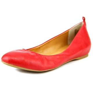 A.N.A Sicily Round Toe Synthetic Ballet Flats