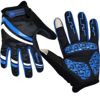 Cycling Gloves Touch-Screen Bike Bicycle Motor Sports Full Finger Windproof Design L/XL