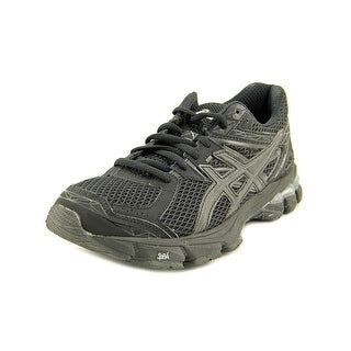 Asics GT-1000 3 Women D Round Toe Synthetic Black Running Shoe