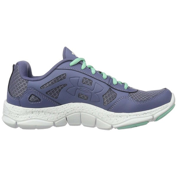 Under Armour Womens W Micro G Engage BL Fabric Low Top Lace Up Fashion Sneakers