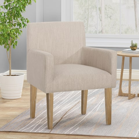 McClure Upholstered Armchair by Christopher Knight Home