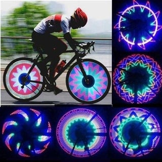GLOW LED Spoke Lights for Bicycle with 32 Patterns