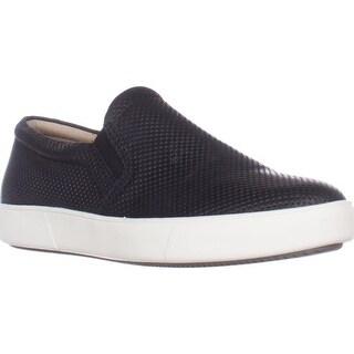 naturalizer Marianne Slip-On Fashion Sneakers, Black Leather
