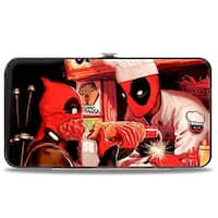 Marvel Universe Deadpool Kills Deadpool #2 Cover Dynamite Chimichanga Hinge Wallet - One Size Fits most