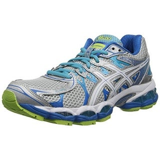 Asics Womens Gel-Nimbus 16 Mesh Metallic Athletic Shoes