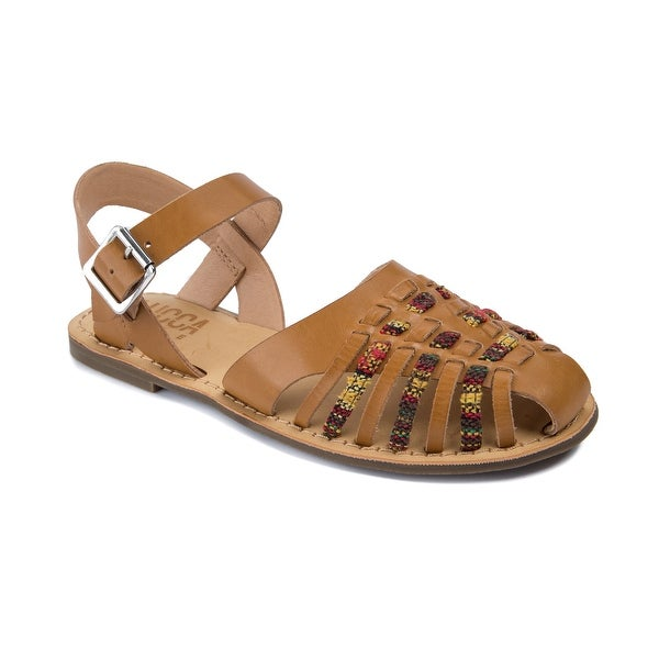 Lucca Lane Hope Women's Sandals Dark Natural