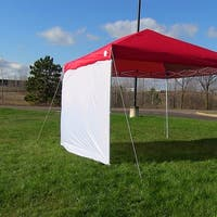 Sunnydaze Sidewall Kit for Straight Leg Canopies - Two 12-Foot Side Walls