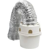 Dundas Jafine 4X5 Indoor Dryr Vent Kit TDIDVKZW Unit: EACH