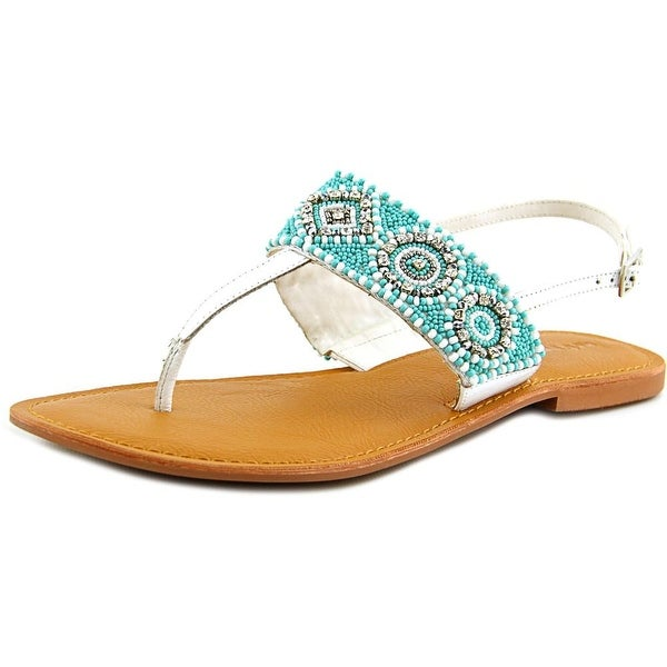 Not Rated Ocean Road  Women  Open Toe Leather  Thong Sandal