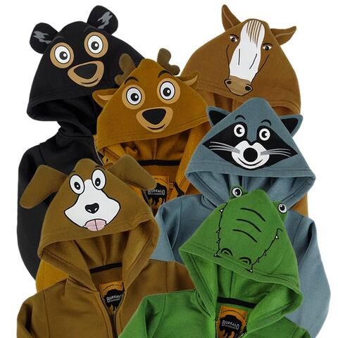 Buffalo Outdoors® Toddler Animal Hoodies