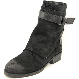 Fergie Neptune Women Round Toe Synthetic Black Ankle Boot
