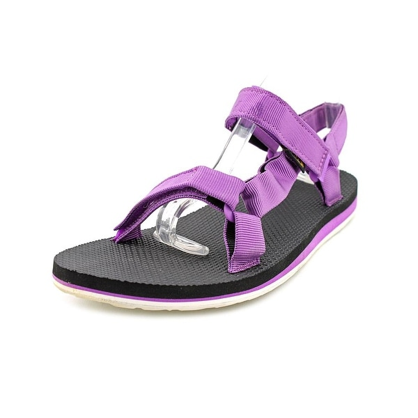 Teva Original Universal Women  Open-Toe Canvas Purple Sport Sandal