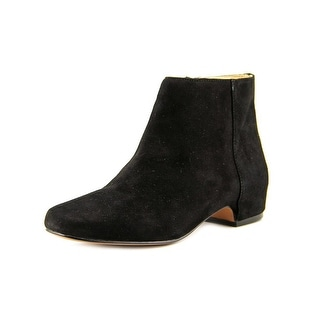 Nine West Huggins Round Toe Suede Ankle Boot