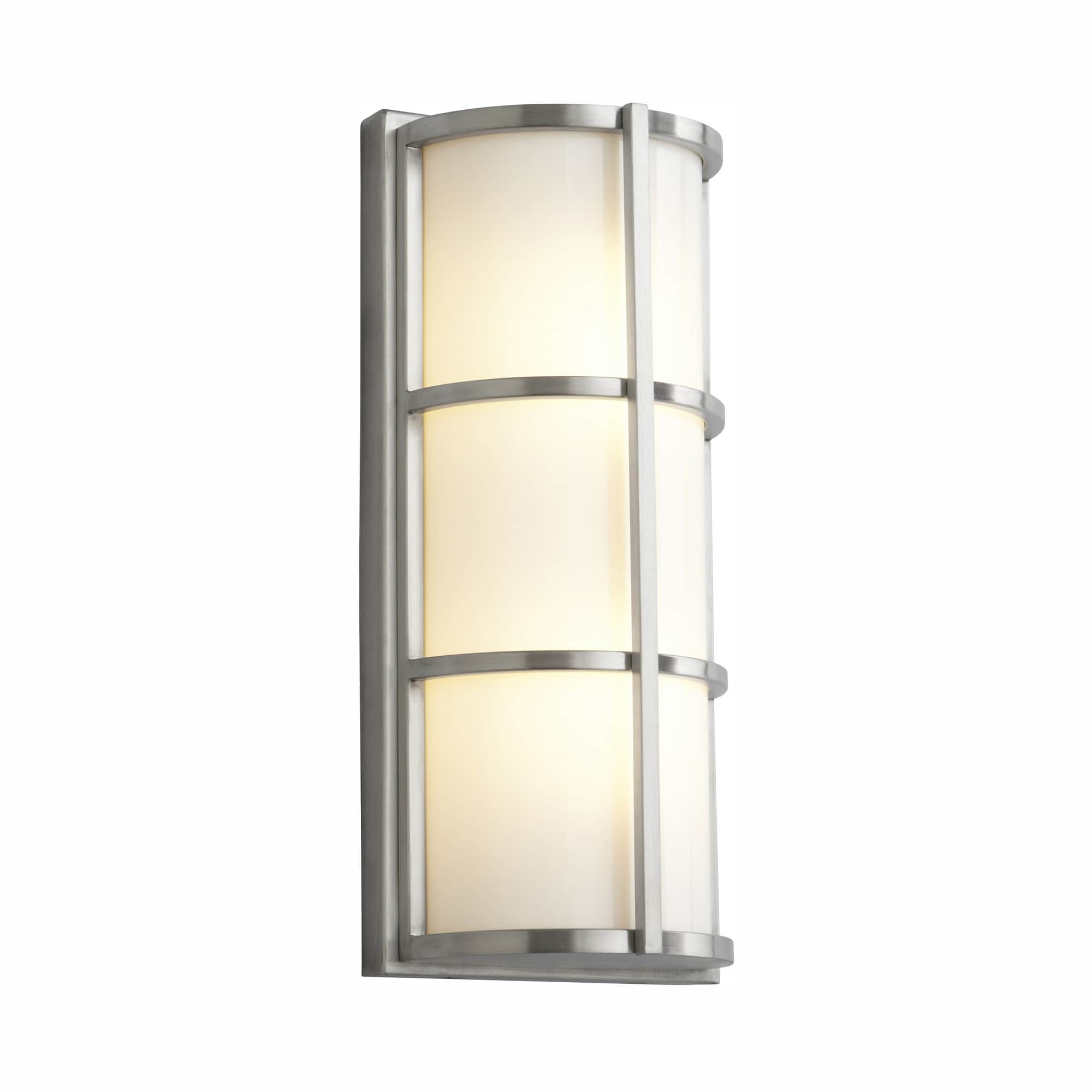 Shop Black Friday Deals On Oxygen Lighting 37 712 Leda 17 Tall 1 Light Commercial 277v Outdoor Led Wall Sconce With Acrylic Half Cylinder Shade Overstock 17036755