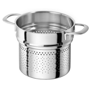 ZWILLING Sensation 5-ply 8-qt Stainless Steel Pasta Insert (Fits 8-qt Stock Pot) - STAINLESS STEEL