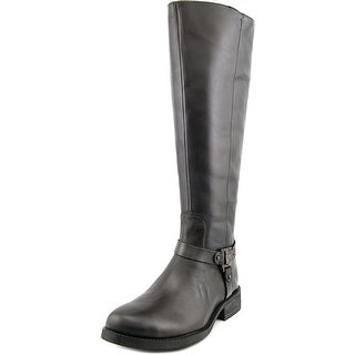Vince Camuto Farren 2 Wide Calf W Round Toe Leather Knee High Boot
