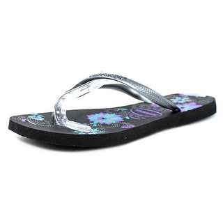 Havaianas Slim Women  Open Toe Synthetic Gray Flip Flop Sandal