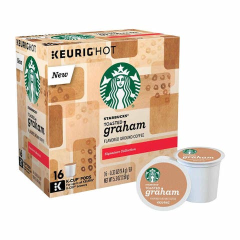 Starbucks Toasted Graham Coffee K-Cup Pod (16 Count)