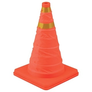 """Victor 22-5-00238-8 Collapsible Sport/Safety Cone, 16"""", Bright Orange"""