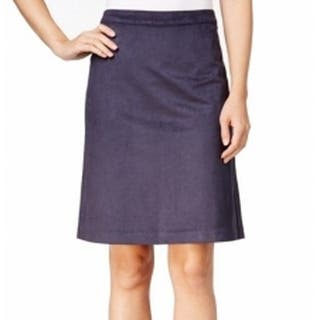 Tommy Hilfiger NEW Navy Blue Womens Size 8 Faux-Suede A-Line Skirt|https://ak1.ostkcdn.com/images/products/is/images/direct/48d5e519ee371a5662bc0690a95f30d2ad1da776/Tommy-Hilfiger-NEW-Navy-Blue-Womens-Size-8-Faux-Suede-A-Line-Skirt.jpg?impolicy=medium