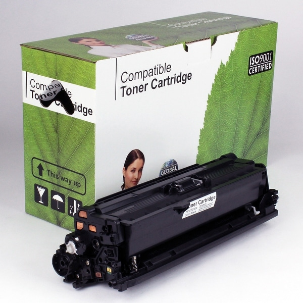 Value Brand replacement for HP 504X CE250X Black Toner (10,500 Yield)
