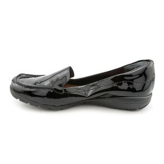 Easy Spirit Womens Abide Leather Square Toe Loafers