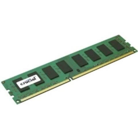 Crucial Memory CT8G3ERSLD8160B 8GB DDR3 1600 ECC Registered 1.35V DRx8 Retail