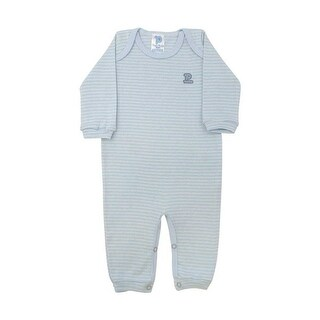 Baby Jumpsuit Unisex Long Sleeve Striped Pulla Bulla Sizes 0-18 Months (More options available)