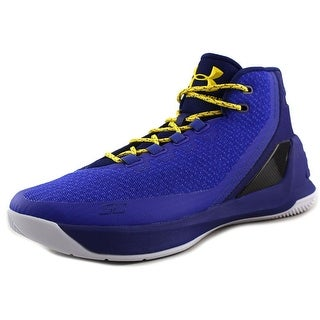 Under Armour Curry 3 Men Round Toe Synthetic Blue Basketball Shoe