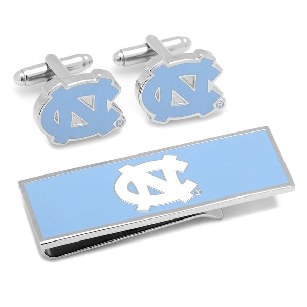 North Carolina Tarheels and Money Clip Gift Set