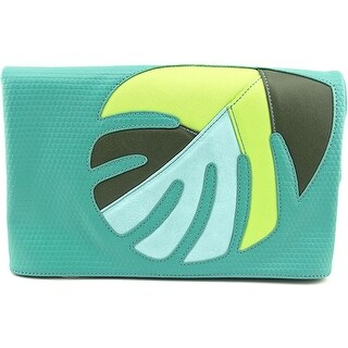 Danielle Nicole Aloha Clutch Women Synthetic Clutch - Green