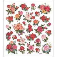 Classic Roses - Multicolored Stickers