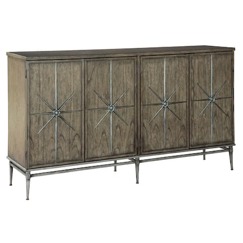 Hekman Furniture Star Solid Wood Entertainment Console