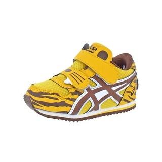 Asics Boys School Yard TS Fashion Sneakers Animal Print Tiger - 5 medium (d) toddler