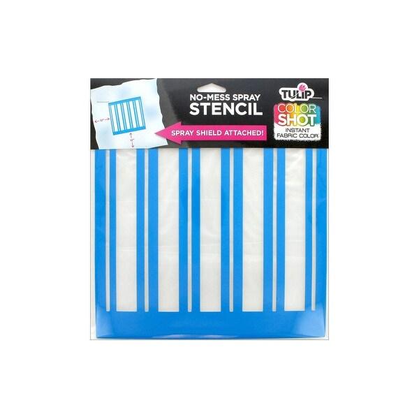 """Tulip Color Shot Stencil 10x10"""" Stripe - Overstock - 24065752"""