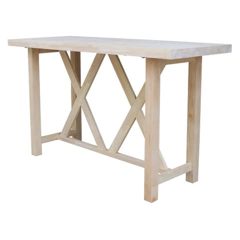 Bar Height Table - For Stools With 30 in. Seat Height - Bar Height