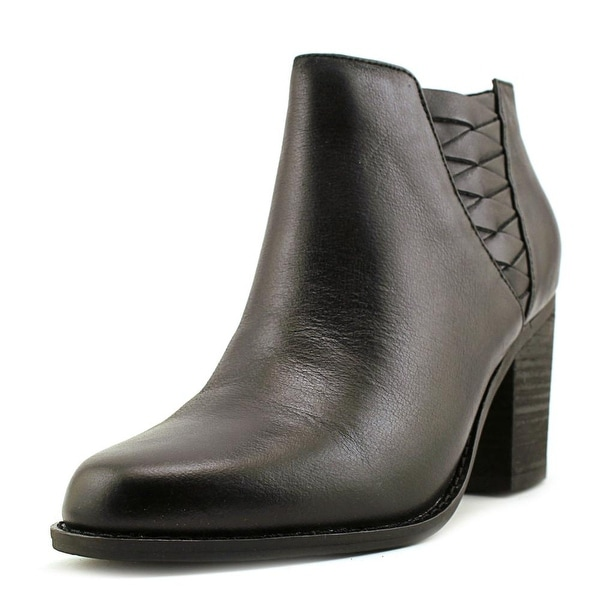 Very Volatile Wesley Women Round Toe Leather Bootie