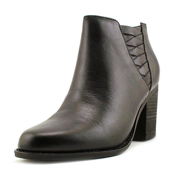 Very Volatile Wesley Women Round Toe Leather Bootie