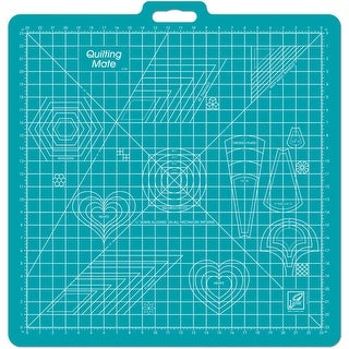 Gridded Rotary Mat W/Handle