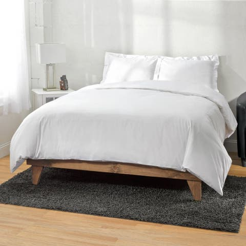 Kotter Home 300 Thread Count Cotton Solid Duvet Cover