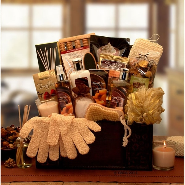 Caramel Spa Treasures Gift Chest. Opens flyout.