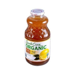 Santa Cruz Organic Organic Lemonade; Half Ice Tea & Half - (Case of 12 - 32 fl oz)