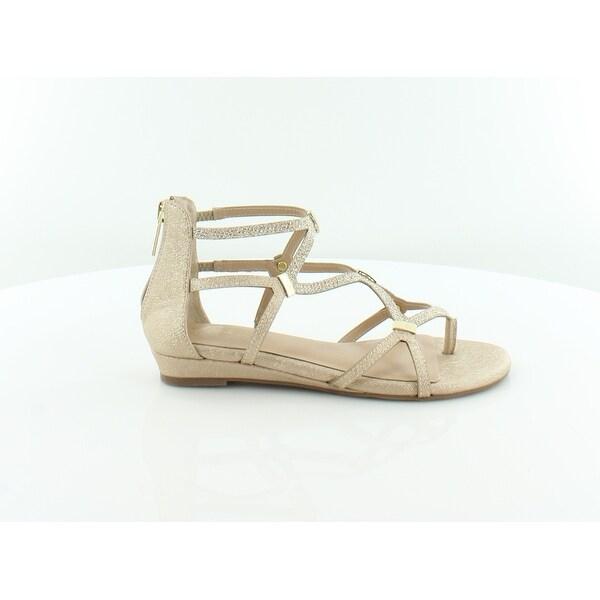 Thalia Sodi Pamella Women's Sandals Gold Metallic - 5
