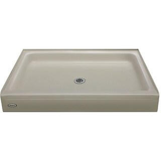 "Jacuzzi CAY6036SCXXXX Cayman 36"" x 60"" Single Threshold Shower Pans with Center Drain"
