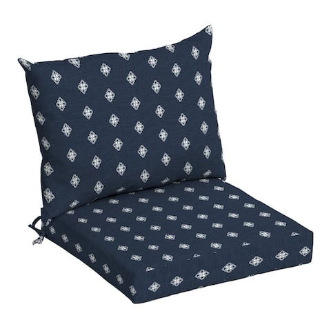 Arden Selections Americana Outdoor 21 x 21 in. Dining Chair Cushion Set