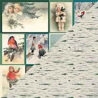 """#8 Vintage Images Cut-Aparts - Solitude Double-Sided Cardstock 12""""X12"""" - 18/Pack"""