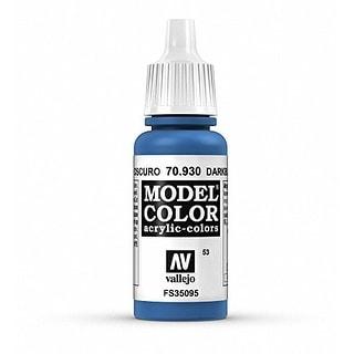 Vallejo Dark Blue Paint, 17ml